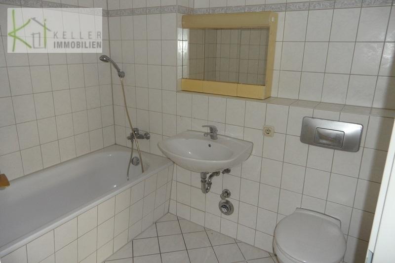Bad/WC mit Badewanne